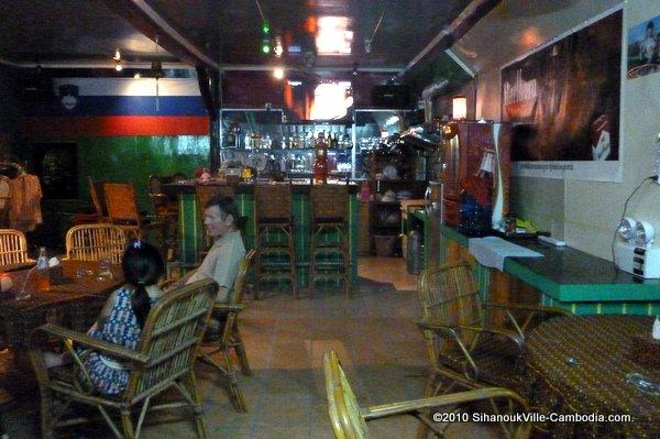 Golden Lion Plaza in Sihanoukville Cambodia Beer Bars