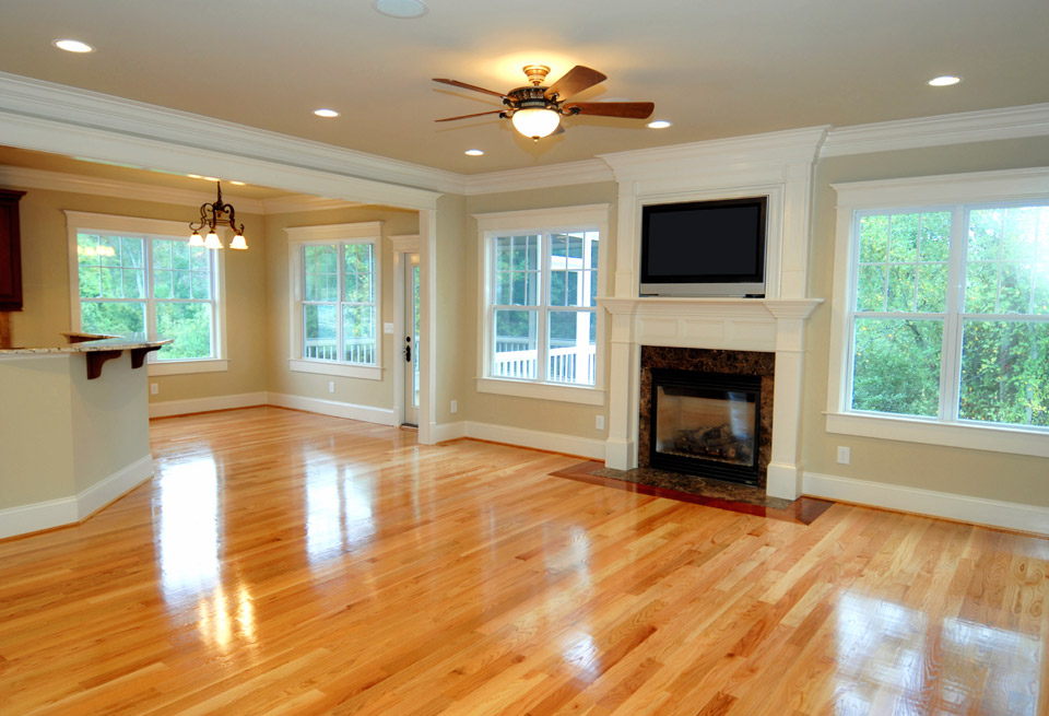 living room design with hardwood floors storage chest s i installation and dustless finishing si
