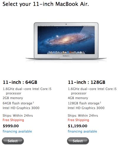 Sihirli elma yeni macbook air 11 inc