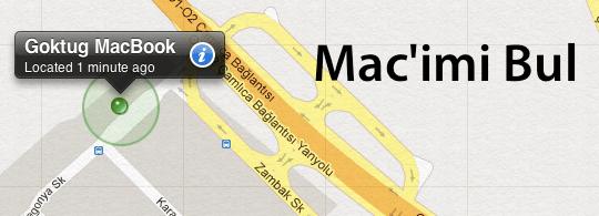 Sihirli elma macimi bul find my mac banner