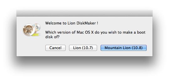 Sihirli elma mountain lion yukleme disk usb bellek 1a