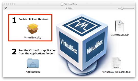 Sihirli elma virtualbox mac windows yuklemek 4