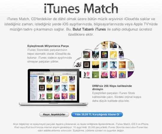 sihirli elma itunes store turkiye acildi 23a itunes match iTunes Store Türkiye sonunda açıldı! :)
