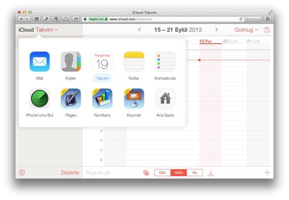 icloud com yenilendi 4 iCloud.com yeni arayüzüyle karşımızda!