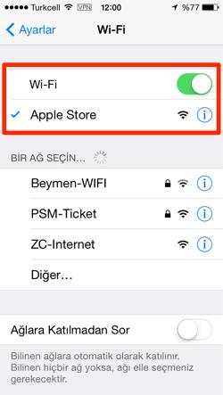 Sihirli elma apple store turkiye zorlu center 14