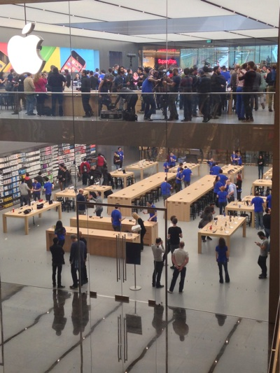 Sihirli elma apple store zorlu center aciliyor 5229