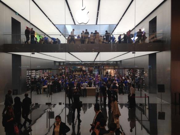 Sihirli elma apple store zorlu center aciliyor 5256