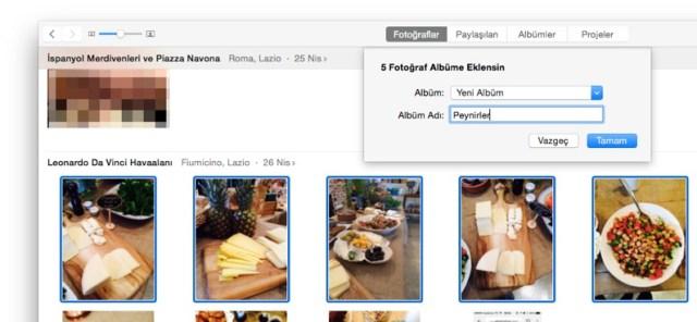 icloud fotoğraf arşivi