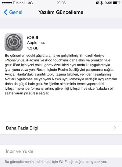 sihirli elma ios9 iPhone ve iPad için iOS 9 Yayınlandı!
