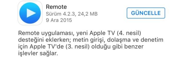 Sihirli elma remote apple tv hero