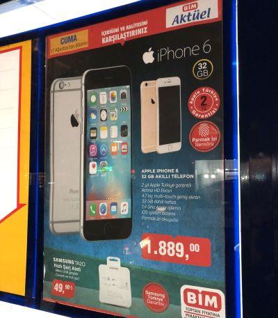 BİM Uygun Fiyatlı iPhone 6