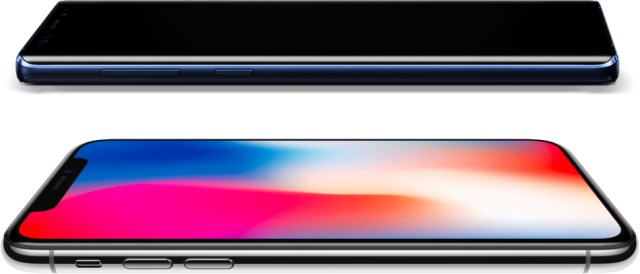 iPhone X ve Galaxy Note 9 Ekran