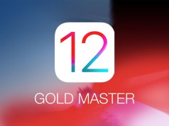 iOS 12 Golden Master GM