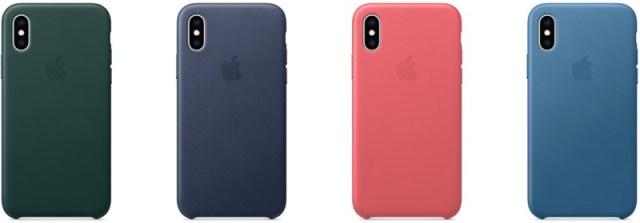 iPhone XS Deri Kılıf