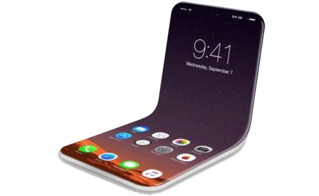 Apple Katlanabilir Ekranlı iPhone