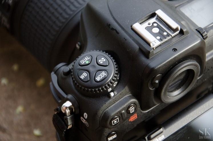 Mitmikvaliku nupp annab märku, kellele see kaamera mõeldud on