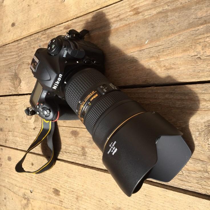 Nikon D500 koos Nikon 24-70 mm f/2.8 VR objektiiviga