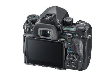 Back view of the Pentax K-1