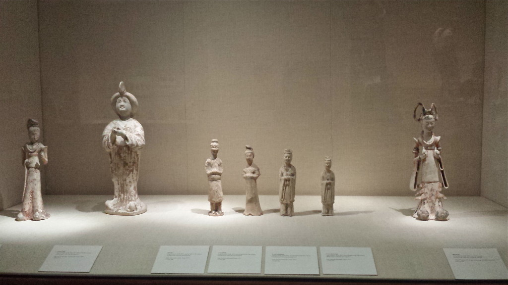 Tang dynasty figurines.