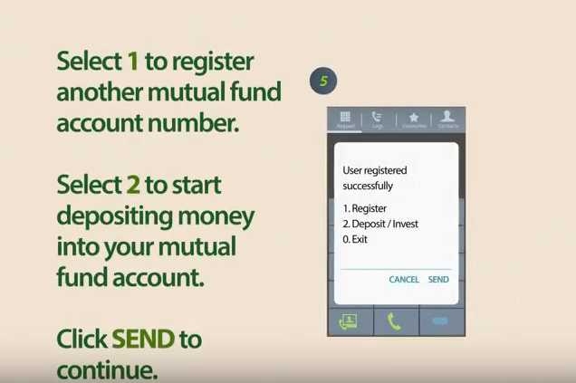 Databank mobile money top-up step 5