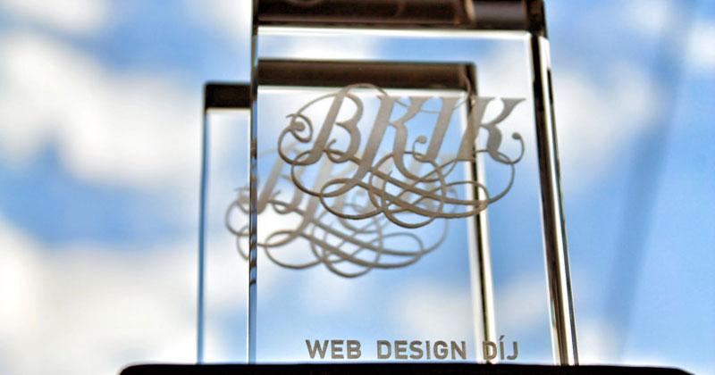 BKIK Webdesign díj