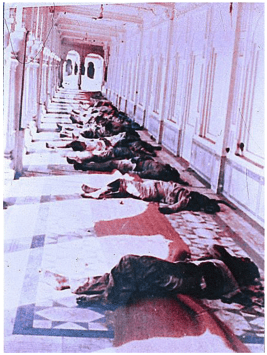 Dead bodies of 1984