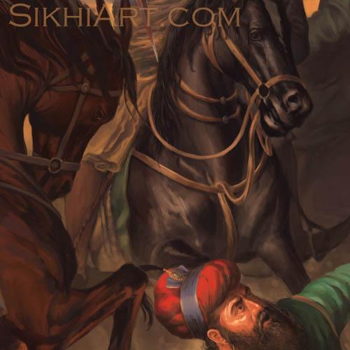 Wazir Khan Captured