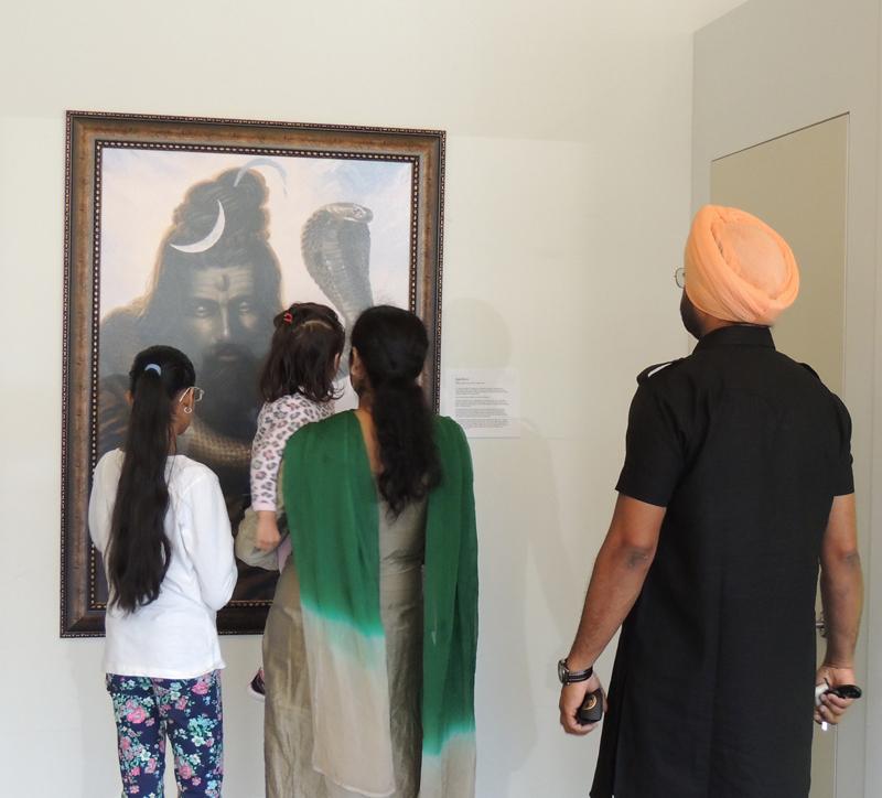 Shiv ji, Shiv, Lord Shiva, Shaivism, Sikhi Art, Exhibition, Bhagat Singh Bedi, Artist, Punjabi Art, Hindu Art, Indian Art