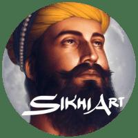 Guru Gobind Singh ji, Sikh Paitings by artist Bhagat Singh Bedi
