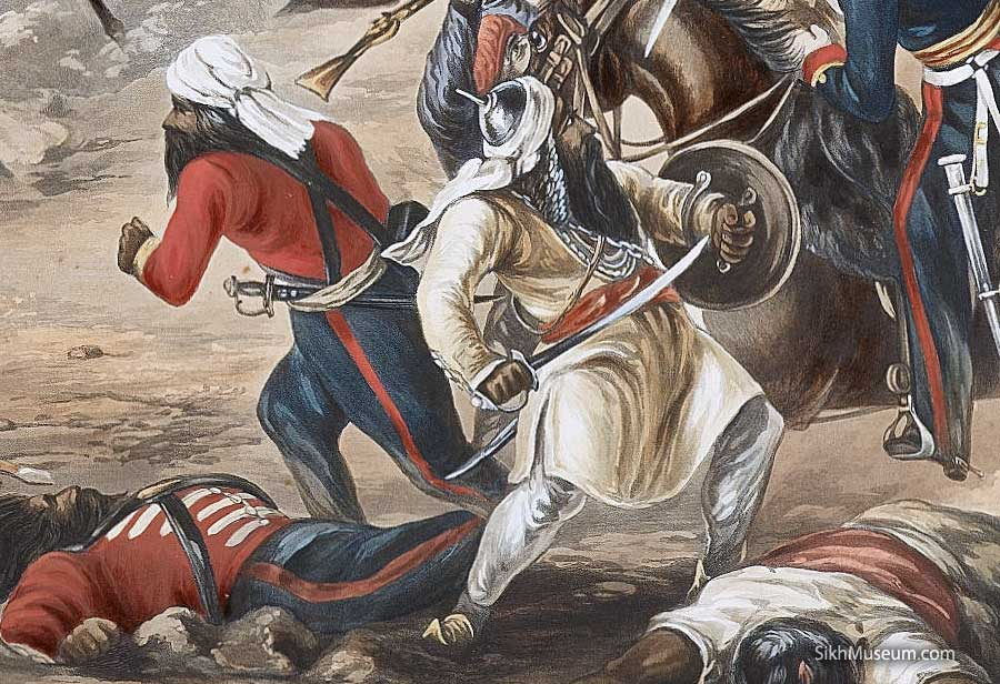 Image result for Sikh soldiers Anglo-Sikh War