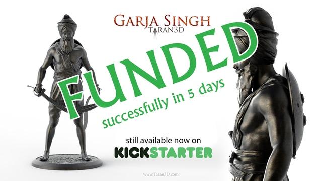 Garja Singh funded