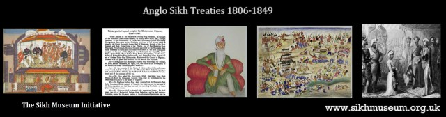 Anglo Sikh Treaties banner