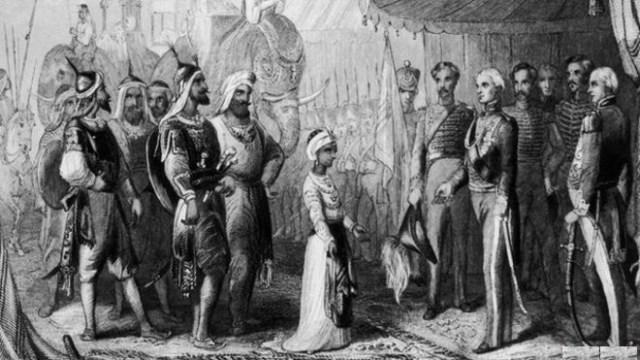 Duleep Singh and Lord Hardinge