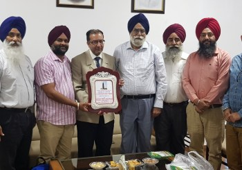 UK Sikh Heritage Organisation Receives Award in India