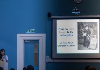Sikh Women in history: Sikh Empire to Suffragettes-Lecture