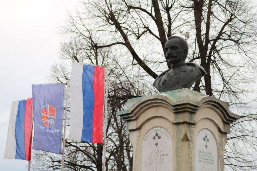 Mrkonjić Grad: Obilježeno 95. godina od podizanja spomenika kralju Petru