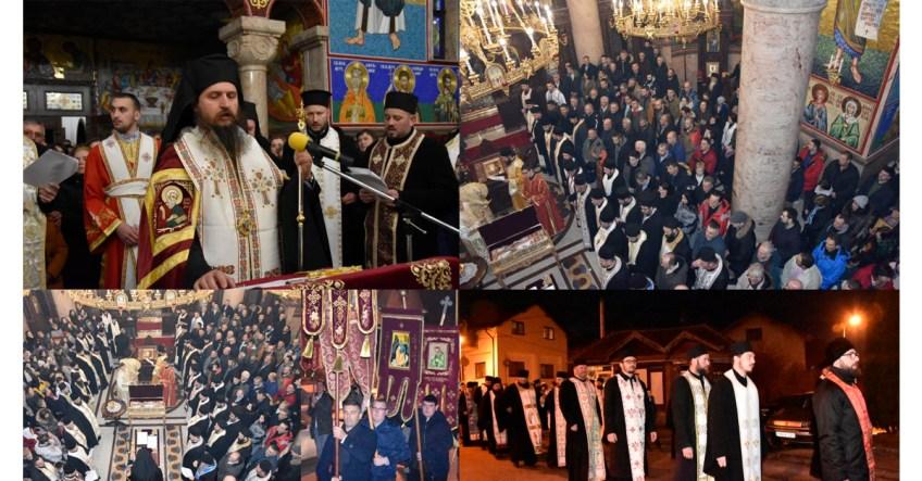 U Mrkonjić Gradu održana litija podrške Srpskoj Pravoslavnoj Crkvi u Crnoj Gori