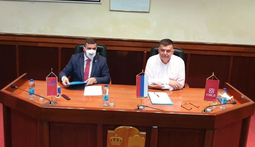 Mrkonjić Grad: Demos i SP podržali kandidata SNSD-a za načelnika opštine