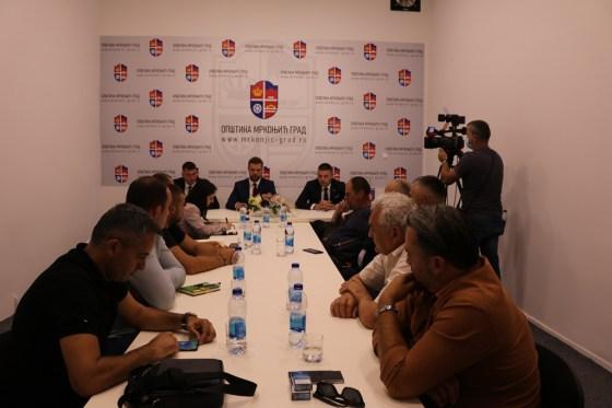 Mrkonjić Grad: Održan sastanak sa šefom Predstavništva Republike Srpske u Austriji