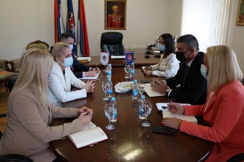 Mrkonjić Grad: Ministar Natalija Trivić posjetila opštinu