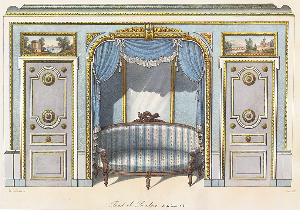 louis xvi interior style. Black Bedroom Furniture Sets. Home Design Ideas