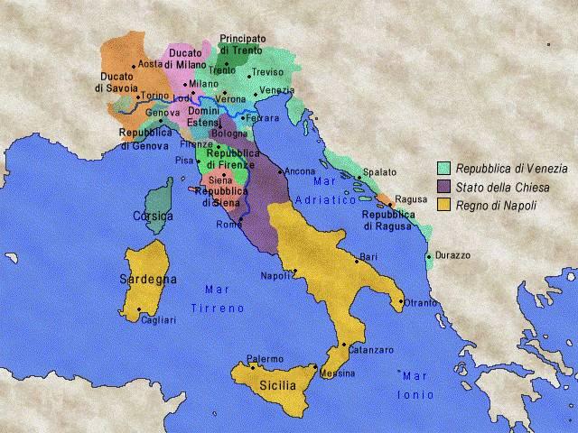 XIII  XV sec LItalia tra Medioevo e Rinascimento