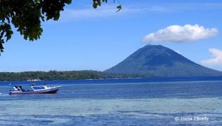 Manado Tua from Siladen Resort & Spa