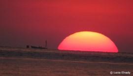 Sunset over Bunaken Marine NP