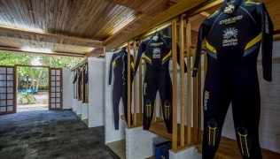 Dive Gear Area