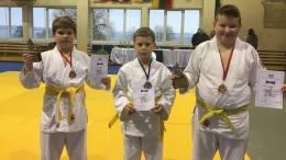 Šilutės sportininkai (iš kairės): N.Kungys, P.Jogminas, M.Sungaila.
