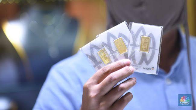 Harga Emas UBS dan Antam 'Naik' Jum'at 15 Oktober 2021