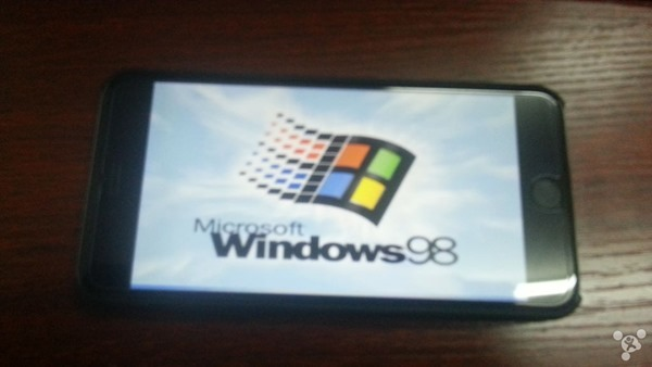 iPhone 6 Plus Windows 98