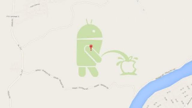 Android Kencingi Apple