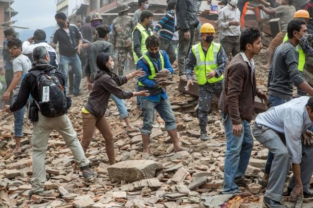 Gempa Nepal